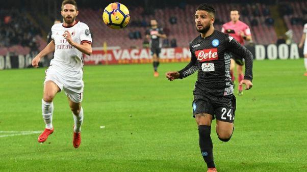 Napoli, Insigne convocato per Torino