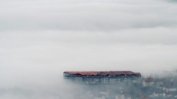 Macédoine: la capitale Skopje asphyxiée par la pollution