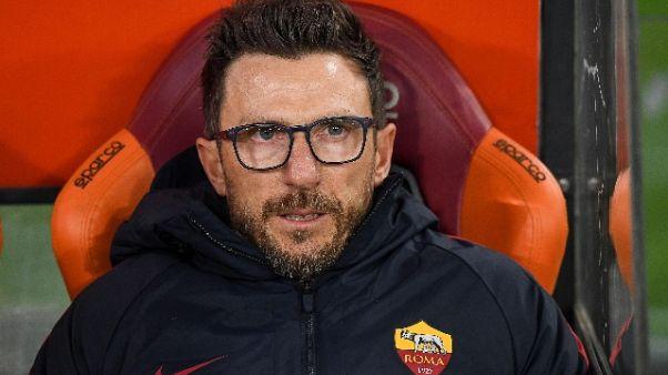 Di Francesco, con Cagliari gol e 3 punti