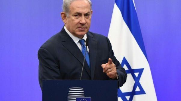 Netanyahu à nouveau entendu dans des affaires de corruption, selon la police