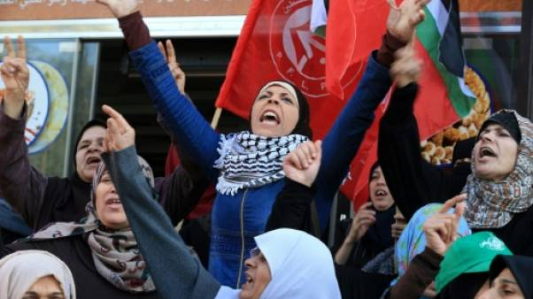 Statut de Jérusalem: importante manifestation dans la bande de Gaza