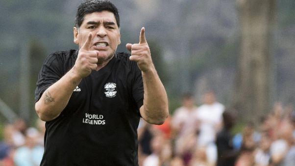 """Maradona """"CR7 più forte? Non scherzasse"""""""