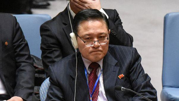 مبعوث كوريا الشمالية يتجاهل دعوة واشنطن لوقف تجارب الأسلحة