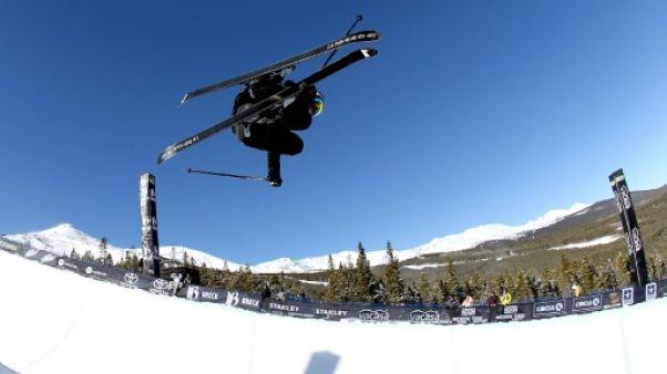 Ski Freestyle: Marie Martinod 2e en superpipe à Breckenridge