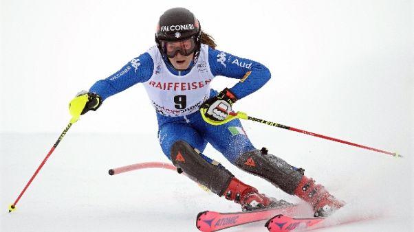 Sci:Val d'Isere, vince Vonn e Goggia 2/a