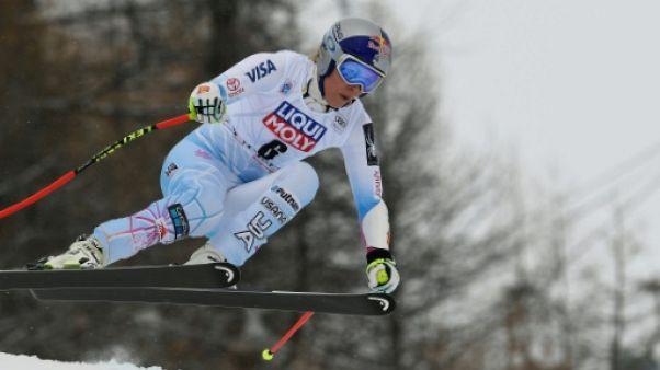 Ski: Vonn remporte sa 78e victoire lors du super-G de Val d'Isère