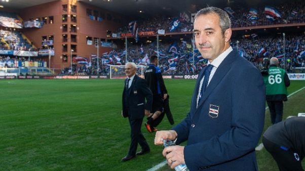 """Sampdoria, Giampaolo """"ripartiamo..."""""""