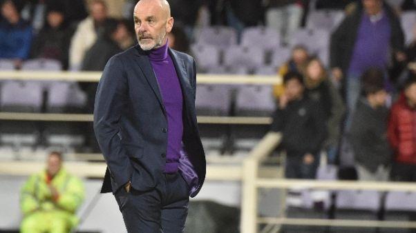 """Fiorentina,Pioli """"continuare fase buona"""""""