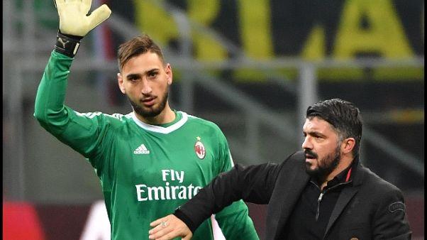 Gattuso fa auguri a Milan per i 118 anni