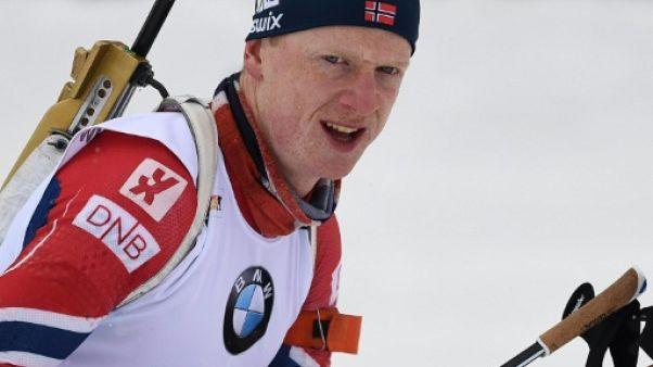Biathlon: Boe toujours intouchable, Fourcade encore 2e, en pourquite au Grand-Bornand