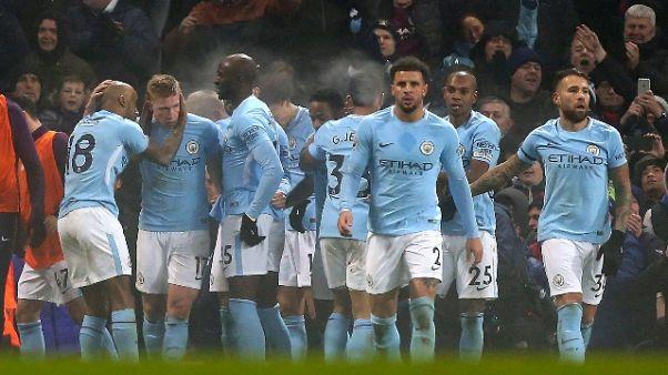 Il City senza freni, 16 vittorie di fila