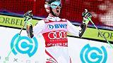 Ski: suite du duel Hirscher-Pinturault lors des géants à Alta Badia