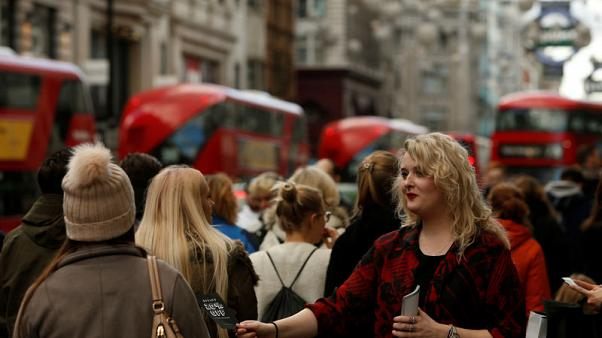 UK households turn downbeat about finances as Brexit weighs - BoE survey