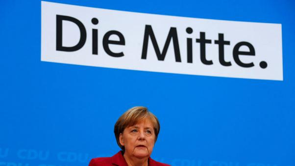 Merkel's conservatives see common ground with Social Democrats on Europe