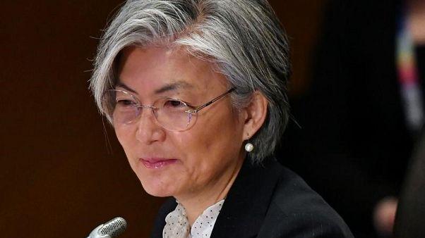 التهديد الكوري الشمالي على جدول أعمال زيارة وزيرة الخارجية الكورية الجنوبية لليابان