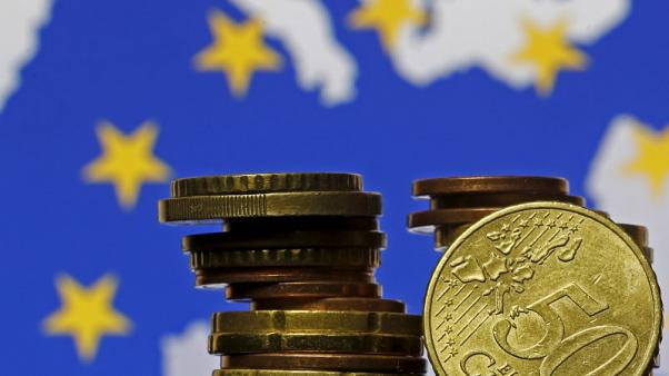 Euro zone businesses end 2017 on near seven-year high, PMIs show