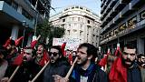 Greeks call strike over austerity and bailout reforms