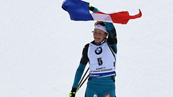 Biathlon, Mass start du Grand Bornand: Justine Braisaz remporte sa 1re victoire