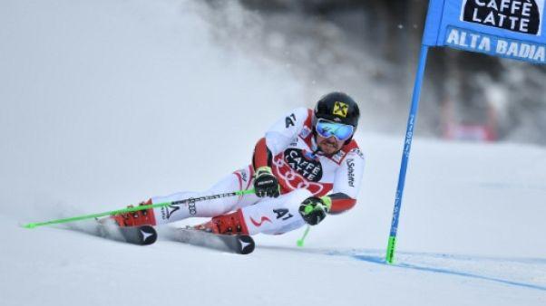 Géant de la Coupe du monde:5e victoire d'affilée à Alta Badia pour Hirscher