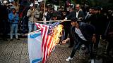 Palestinian stabs Israeli in Jerusalem; anti-Trump protest flares in Beirut