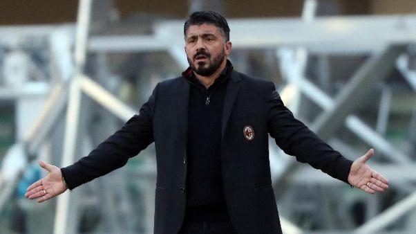 """Gattuso """"Figuraccia, chiediamo scusa"""""""