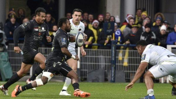 Rugby: Clermont double la mise face aux Saracens et s'ouvre la porte des quarts en Coupe d'Europe