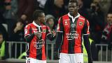Ligue 1: Nice bat Bordeaux 1-0 et bondit à la 6e place