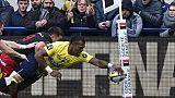 """Rugby: """"sans doute"""" les ligaments croisés d'un genou pour l'ailier de Clermont Raka"""