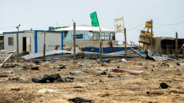 Gaza: Israël bombarde des positions du Hamas après des tirs de roquettes