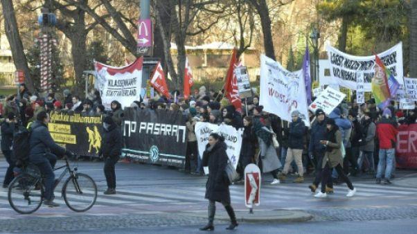 Autriche: manifestation contre l'extrême droite au gouvernement