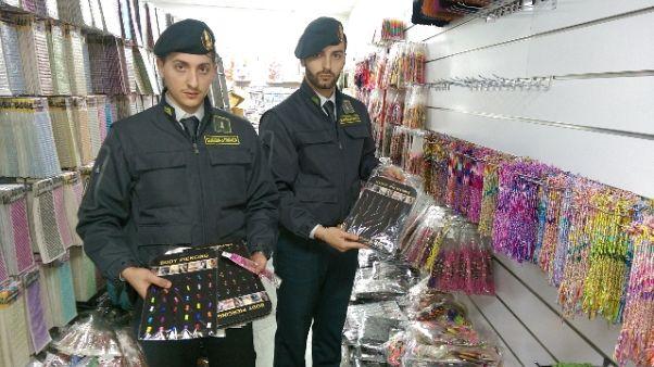 Falsi: oltre 6 mln prodotti sequestrati