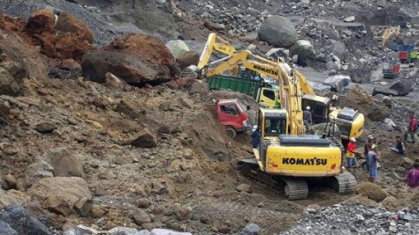 Indonésie: huit morts dans une avalanche sur un flanc de volcan