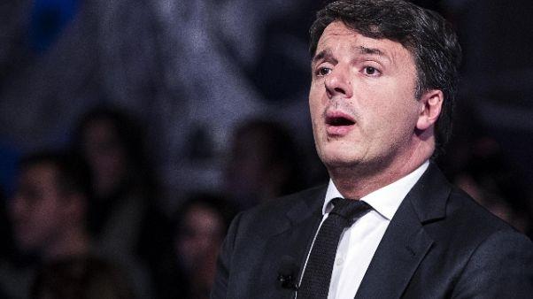 Renzi, con Salvini Di maio ricadute