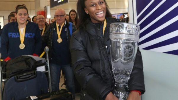 Handballeuses françaises: le temps des célébrations, avec l'Euro-2018 en tête