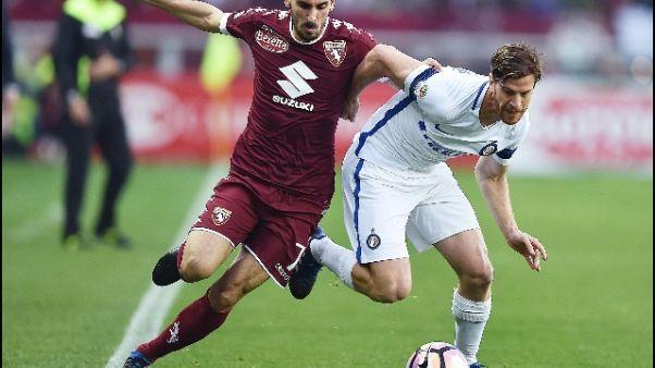 Torino, Ansaldi operato a Monaco