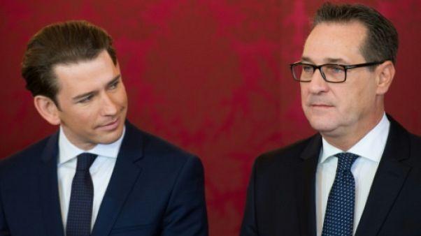 """Strache, l'ancien """"jeune loup"""" d'extrême droite devenu fréquentable"""