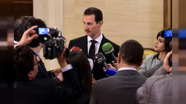 "Assad accuse la France de ""soutien au terrorisme"""