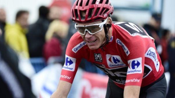 Cyclisme: le MPCC demande à Sky de suspendre Froome