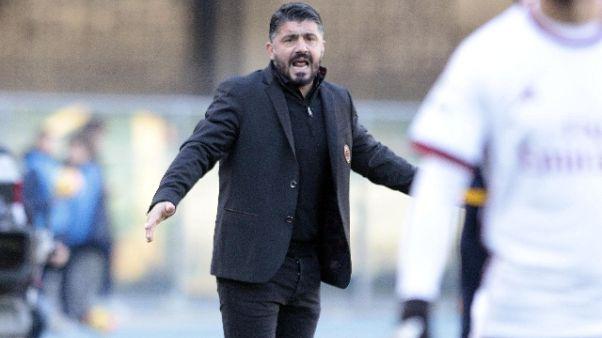 Milan smentisce voci dimissioni Gattuso