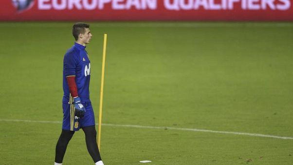 كيبا حارس بيلباو يغيب بسبب كسر في القدم