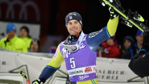 Ski: toute première fois pour Olsson lors du géant parallèle d'Alta Badia