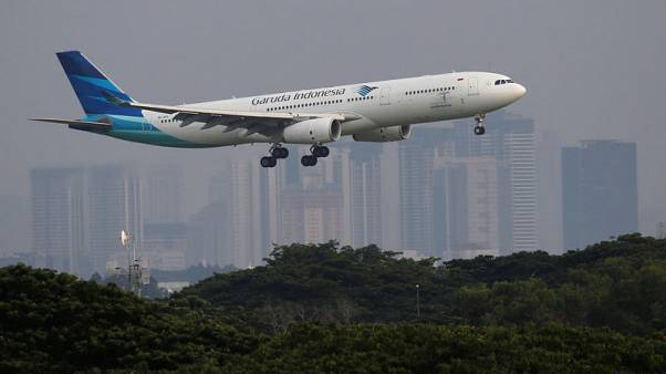 Garuda's international traffic hit by Bali's volcanic eruption