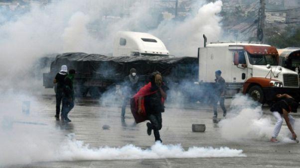 Honduras: les manifestations s'intensifient après la réélection du président