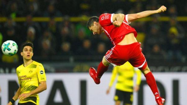 """Coupe d'Allemagne: un """"Klassiker"""" Munich-Dortmund en 8e de finale"""
