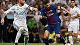 Espagne: la folle semaine avant le clasico Real-Barça