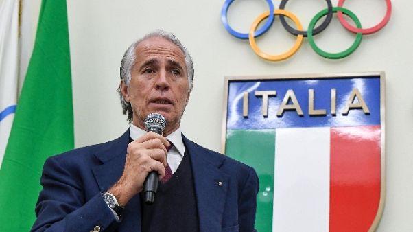 Malagò,2017 grande anno per sport Italia