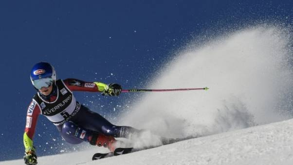 Ski: Shiffrin domine la 1re manche du Géant de Courchevel