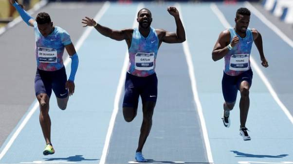 Shocked Gatlin sacks coach after doping claim
