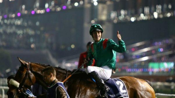 Equitation: le jocket belge Christophe Soumillon bat le record d'Europe de victoires en plat