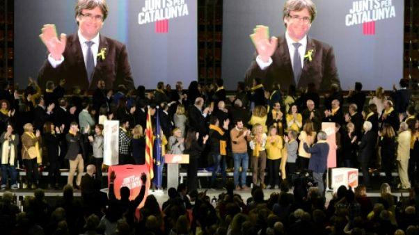 Catalogne: fin d'une campagne atypique depuis la prison et l'exil
